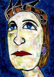 19- Sofia Reina Emerita de España. Soy un Retrato.. Carmen Luna