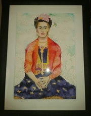 'Frida Kahlo'. Estefani Hernandez