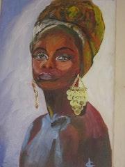Femme Africaine. Françoise Charvieux