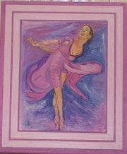 Danseuse. Françoise Charvieux