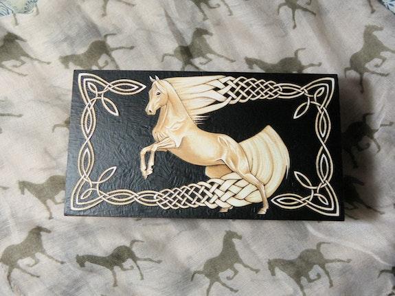 Celtic Horse - Trinket box. Galuska Galuska