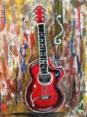 La Guitare rouge. Jamay Black