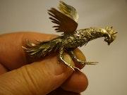 Aperçu taille d'un modèle d'oiseau. Jidejol