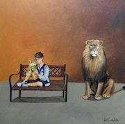 Le lion. Valérie Cymbalista
