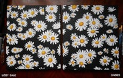 Wild Daisies Set, Original Painting, Floral painting, 100% Handmade. Lissy Gale