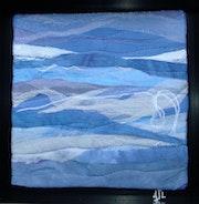 Bleu. Jean Pierre Avonts-Saint-Lager