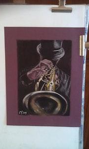 Trompettiste Jazzman.