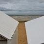 Saint Aubin sur mer : les cabanes de bain. Microzede