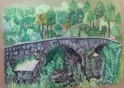 Pont médiéval de Ribera de rodas.