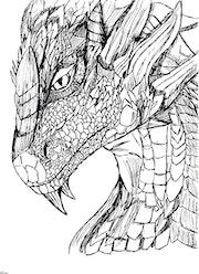 Dragon. Pizou