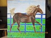 Horse du kentucky.