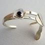 Bracelet «Géranium sauvage». Christine Richard