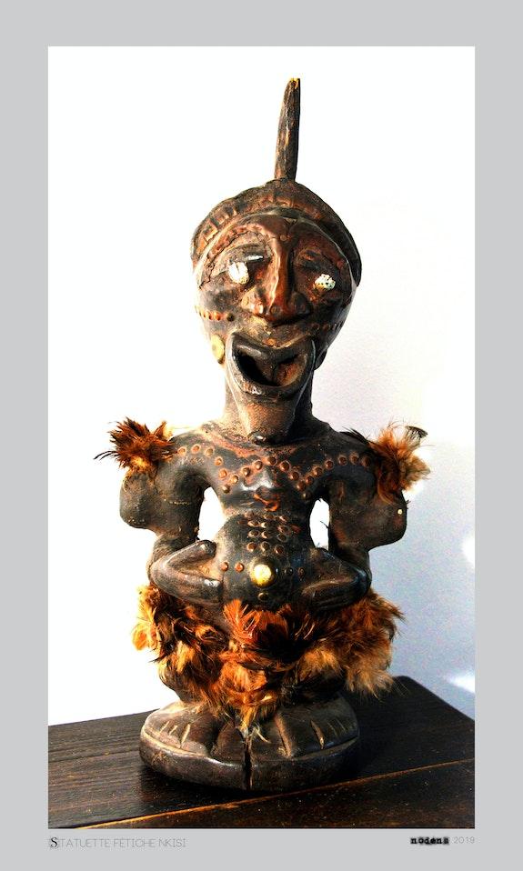 Statuette Nkisi. Nodens Nodens