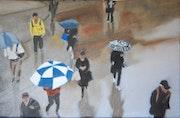 Les parapluies d'après John Binner. Cesar Luciano
