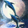 Dancing Dolphin. Lyne Le Grand