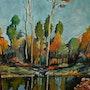 Petit lac. Andre Blanc