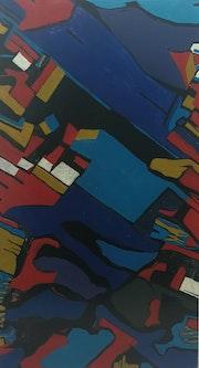 Blue Horse. Josh Joli Baker Loader