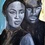 Naomi and her boyfriend. Nathalie Vareille Sorbac