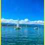 Lac Léman - Lausanne - Suisse. Abir Hassouna