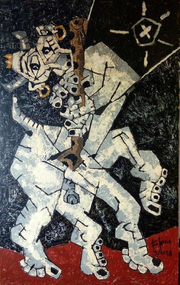El hibrido. Francisco Garcia Verdugo Art-Foco
