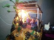 Nacimiento de Jesús-maqueta. Richards Lamilla