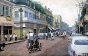 Saigon street in the 70s.