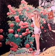 Pauline aux hortensias (2).