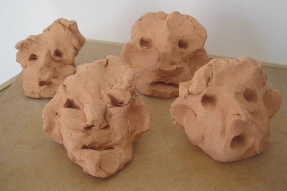 Cuatro cabezas expresionistas. Juan Carlos Verdú Bermejo Juan Carlos Verdú Bermejo