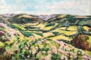 Paysage du Cantal.