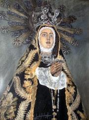 Virgen de la Soledad Patrona de Castalla.