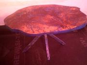 Plateau de table en poirier. Dydy