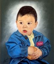 Mi hijo Leandro.