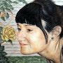 La chica de la rosa. Leandro Berbegal
