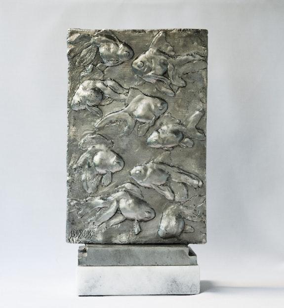 9 Gold fish. Barake Sculptor Barake Sculptor
