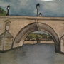Pont Marie (Paris). Evelyne Patricia Lokrou