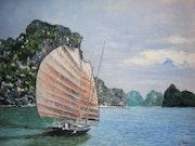 La Baie d'ALONG au vietnam.