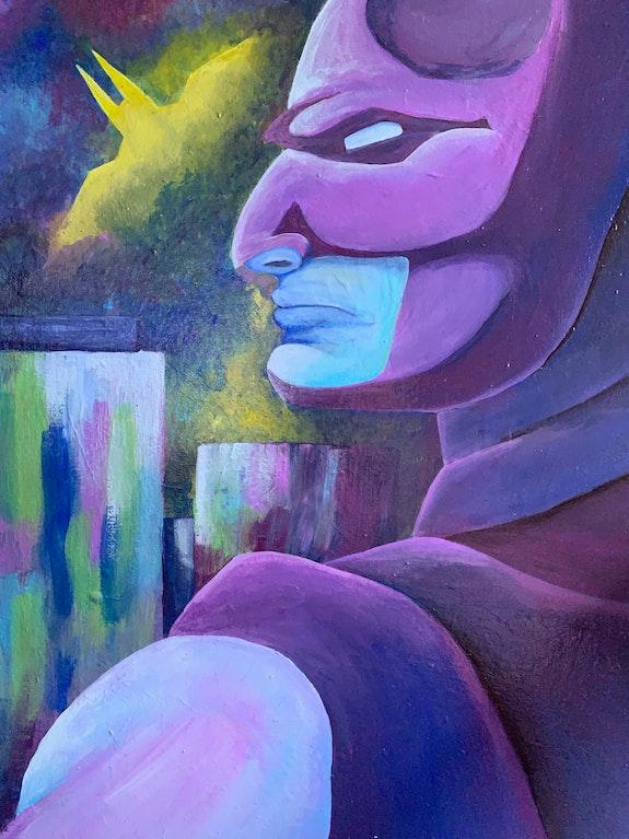 Knightfall - Batman Dedication. Macaylin Crowley Macaylin Crowley