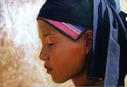 Young girl from Sapa.