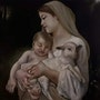 Mother mary with her baby. Alna Poulose