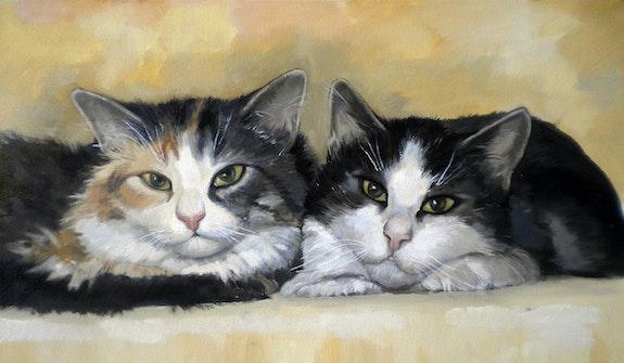 Аunt and niece. Alan Albegov Alan Albegov