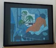 La chambre bleue. Dalhia