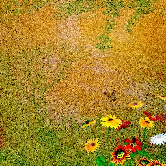 Potpourri mit «rauschendem» Hintergrund. Juste Juste