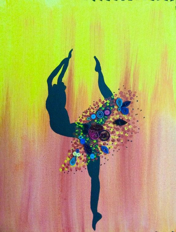 Dancing Ballerina. Suma George Suma George