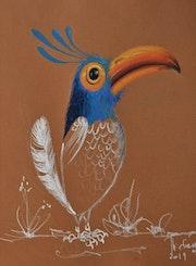 Oiseau spectateur..