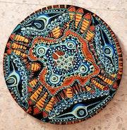 Mandala israeli painting art. Mirit Ben-Nun