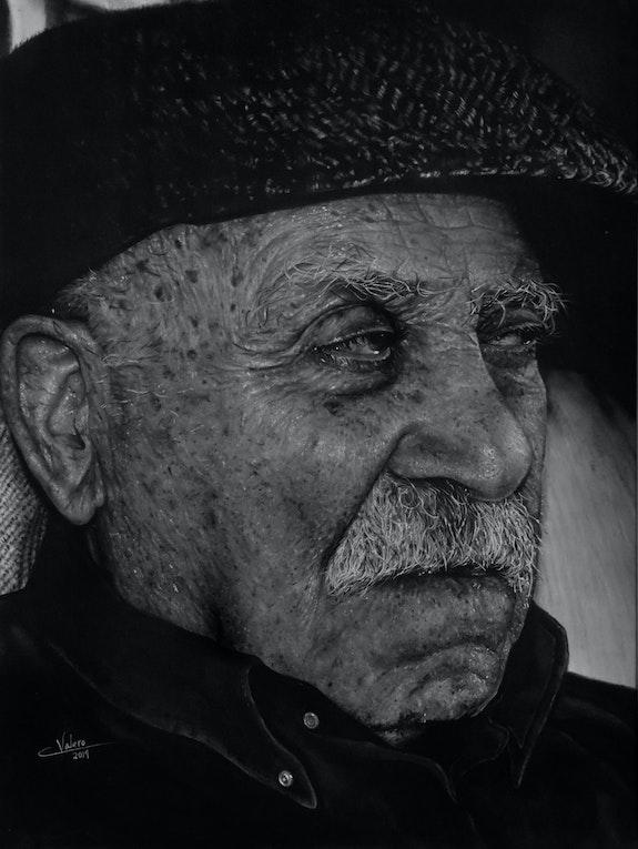 Drawing of grandpa. Lucia Valero Lucía Inman Valero