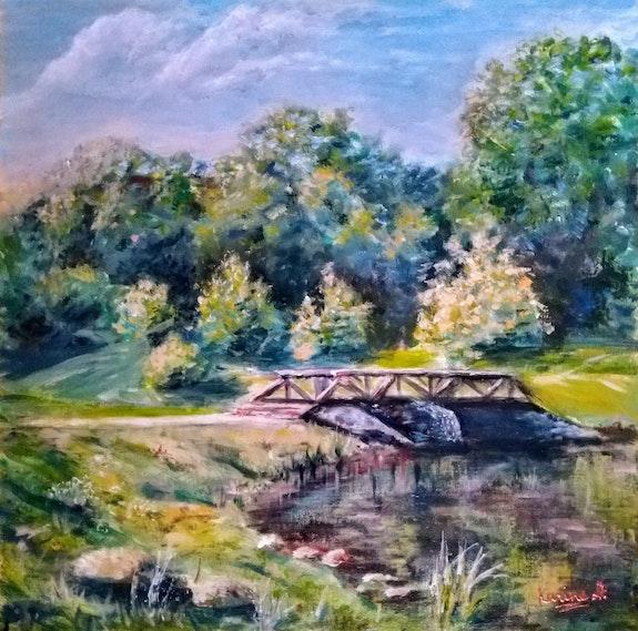 Summer Day at the Pond. Karine Andriasyan Karine Andriasyan