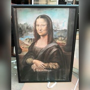 Mona Lisa Bigger Picture. Artfinga