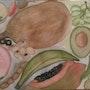 Fruits, légumes. Evelyne Patricia Lokrou
