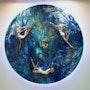 Danza Celestial, Colección: Universo infinito. Liliana Méndez